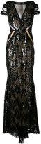 Talbot Runhof North Way gown - women - Silk/Polyamide/Polyester/Spandex/Elastane - 36