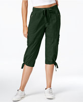 Calvin Klein Convertible Cargo Capri Pants