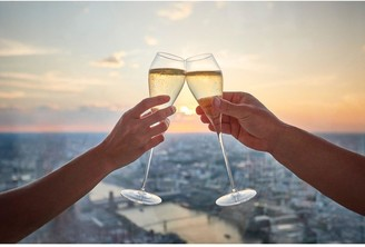 Virgin Experience Days Champagne at The View from The Shard for Two, London