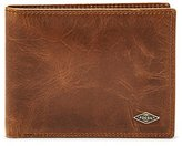 Fossil Men's Ryan Rfid Blocking Leather L-Zip Bifold Wallet