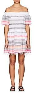 Lemlem Women's Kal Striped Cotton-Blend Off-The-Shoulder Dress - Petal