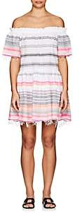 Lemlem Women's Kal Striped Cotton-Blend Off-The-Shoulder Dress-Petal