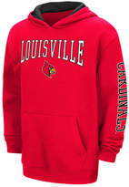 Colosseum Louisville Cardinals Zone Pullover, Big Boys (8-20) Hoodie, Big Boys (8-20)