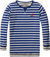 Scotch & Soda 2-in-I Breton Striped T-Shirt