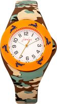Joules Boy`s Multicolour Silicone Strap Watch