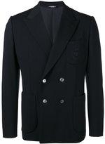 Dolce & Gabbana bee & crown embroidered jacket - men - viscose/Polyamide-8/Spandex/Elastane/Polyester - 48