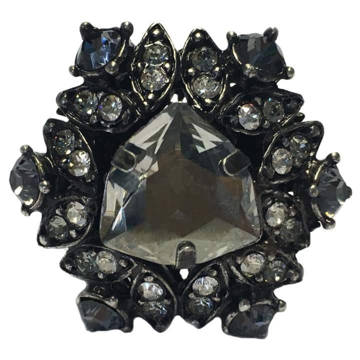 Lanvin Silver Metal Ring