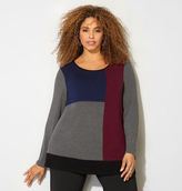 Avenue Colorblock Hatchi Top