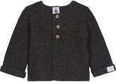 Petit Bateau Wool-blend cardigan 1-12 months