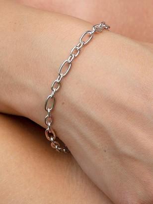 The Love Silver Collection Sterling Silver 1/4Oz Belcher Bracelet