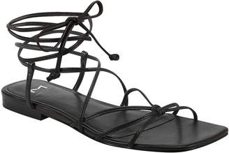 Marc Fisher Marina Flat Lace-Up Sandals