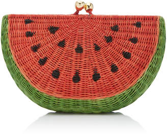 Serpui Marie Watermelon Clutch