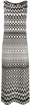 Missoni patterned knit maxi dress