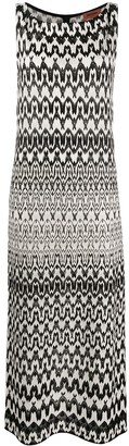 Missoni Patterned Knit Maxi Dress