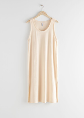 And other stories Relaxed Duo Slit Midi Dress