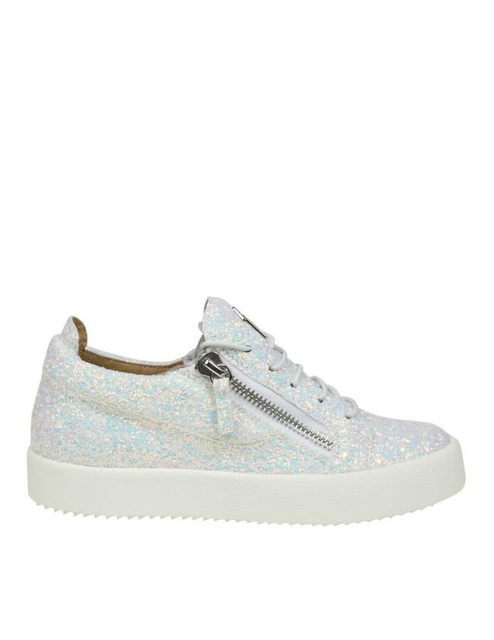Giuseppe Zanotti low-top Sneakers In Fabric With Glitter