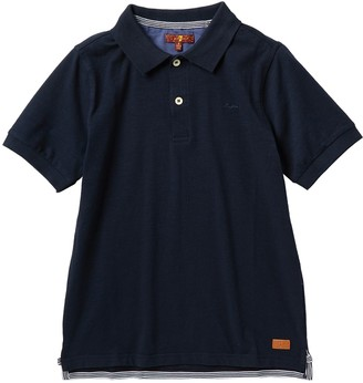 7 For All Mankind Slouchy Polo Shirt (Big Boys)