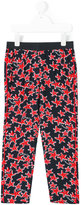 Armani Junior starfish printed leggings - kids - Viscose - 4 yrs