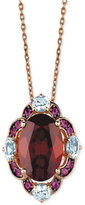 LeVian Le Vian Crazy Collection® Multi-Gemstone Pendant Necklace (6 ct. t.w.) in 14k Rose Gold
