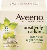 Aveeno Positively Radiant Intensive Night Cream with Vitamin B3 - 1.7 oz