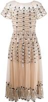 Temperley London Clio embellished midi dress