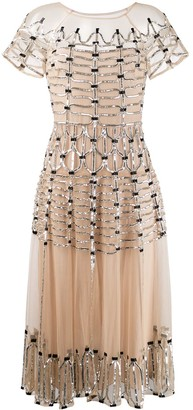 Temperley London Clio embellished midi dress