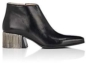 Acne Studios Women's Lusinda P Leather Ankle Boots-Black