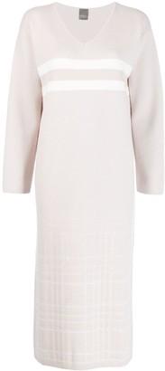 Lorena Antoniazzi Striped Knit Dress