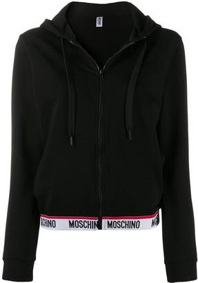 Moschino Logo Waistband Cardigan