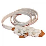 Valentino White Leather Belt