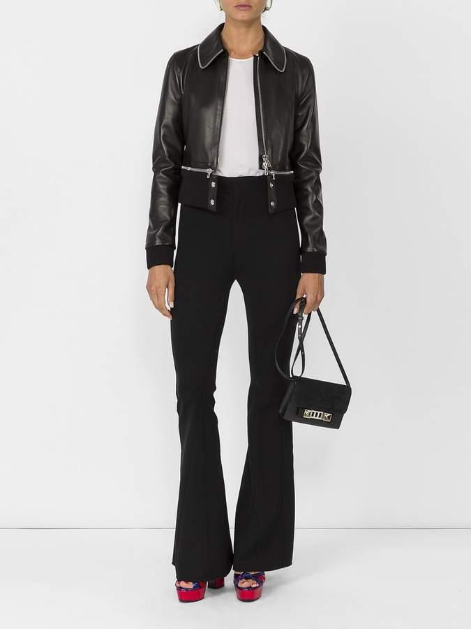 Givenchy Zipper trim leather jacket