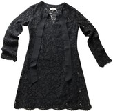 Sandro Black Lace Dress for Women