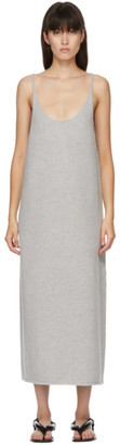 Arch The SSENSE Exclusive Grey Knit Tank Dress