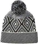 Joe Fresh Women's Geo Pattern Hat, JF Black (Size O/S)