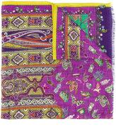 Etro multiple prints scarf - women - Silk/Wool - One Size