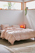 Urban Outfitters Bungalow Netted Trim Duvet Cover
