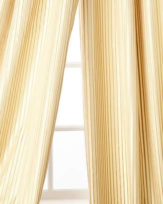 """Home Silks Silenzio Curtain Panel, 108""""L"""
