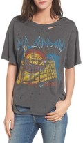 Daydreamer Women's Def Leppard Ripped Graphic Tee