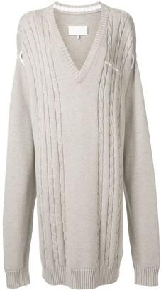 Maison Margiela Midi Knit Dress