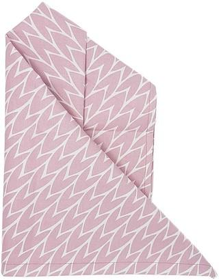 Laura Jackson Design Leaf Tea Towel Pink