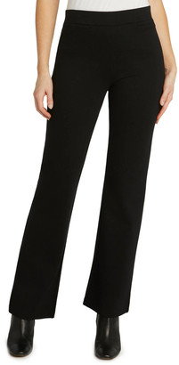 Matty M Wide Leg Trouser Pant Black XS