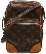 Louis Vuitton Neverfull cloth crossbody bag