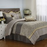 Bed Bath & Beyond Joseline 7-Piece Comforter Set in Grey/Buttercup