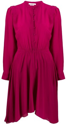 Etoile Isabel Marant silk dress with Juliet sleeves