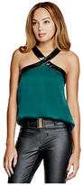 G by Guess GByGUESS Women's Jayla Charmeuse Top