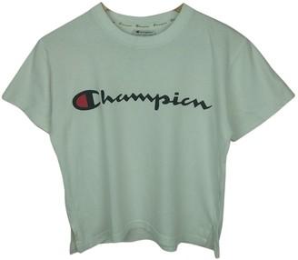 Champion White Cotton Top for Women Vintage