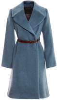 Marc Jacobs Baby Llama Belted Wrap Coat
