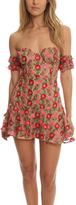 For Love & Lemons Amelia Strapless Mini Dress