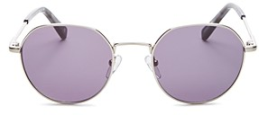 Le Specs Luxe Unisex Drifter Round Sunglasses, 49mm