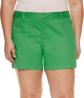 A.N.A a.n.a Chino Shorts-Plus
